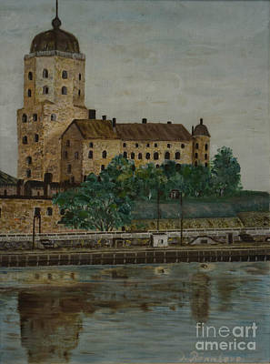 Painting - Castle Of Vyborg by O Ronnberg