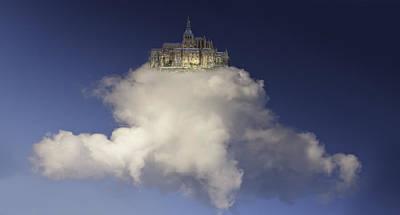 Castle On A Cloud Art Print