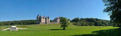 Chateau Photograph - Castle On A Hill, Chateau De by Panoramic Images