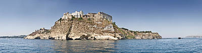 Castello Photograph - Castle On An Island, Castello by Panoramic Images