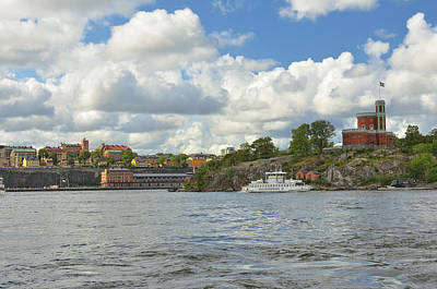 Photograph - Castle On Kastelholmen I  by Marianne Campolongo