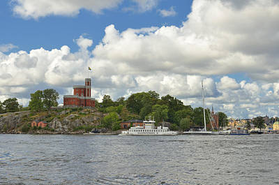 Photograph - Castle On Kastelholmen II  by Marianne Campolongo