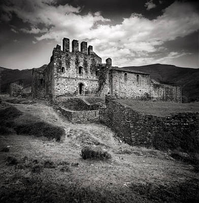 Church On The Hill Photograph - Castle On The Hill by Daniel Sanchez Blasco