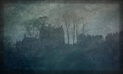 Photograph - Castle On The Hill by Liz  Alderdice