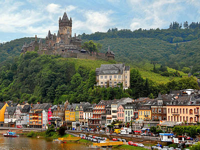 Photograph - Castle On The Mosel River by Joe Bonita