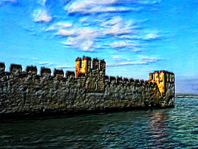 Caravaggio - Castle on the Sea by Bruce Nutting