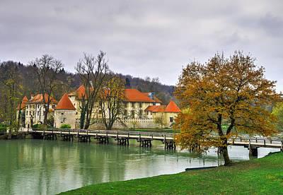Famous Residents Photograph - Castle Otocec Bridge by Ivan Slosar
