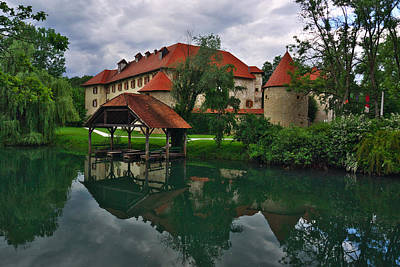 Famous Residents Photograph - Castle Otocec by Ivan Slosar