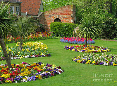 Castle Park Gardens  Art Print by Ann Horn