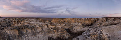 Photograph - Castle Rock Badlands Pano by Scott Bean