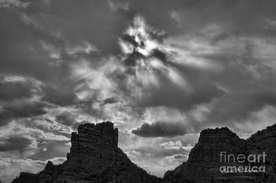 Photograph - Castle Rock II Sedona Az by Dave Gordon