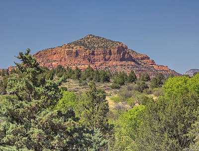 Photograph - Castle Rock Sedona 1 by Marianne Campolongo
