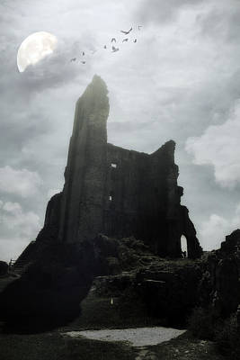 Castle Ruin Art Print by Joana Kruse