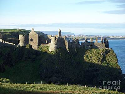 Art Print featuring the photograph Castle Ruins by Marilyn Zalatan