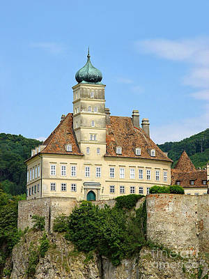 Photograph - Castle Schoenbuehel On The River Danube by Menega Sabidussi