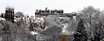 Photograph - Edinburgh Winter Castle by Karsten Moerman
