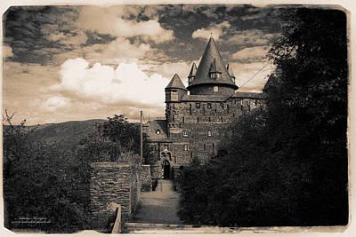 Past Twilight Digital Art - Castle Stahleck by Natalia Kempin