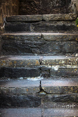Highlands Of Scotland Photograph - Castle Stairs by Iris Richardson