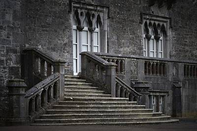 Photograph - Castle Stairs Kilkenny Castle by Nadalyn Larsen