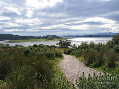 Loch Photograph - Castle Stalker by Denise Railey