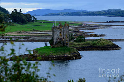 Castle Stalker  Art Print by DejaVu Designs