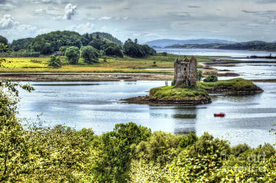 Traci Law Photograph - Castle Stalker by Traci Law