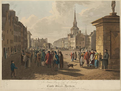 Irvine Photograph - Castle Street by British Library