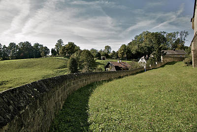 Photograph - Castle Wall In Tittmoning Germany by Owen Weber