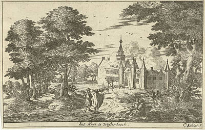 Castle Westerbeek, Cornelis Elandts Art Print