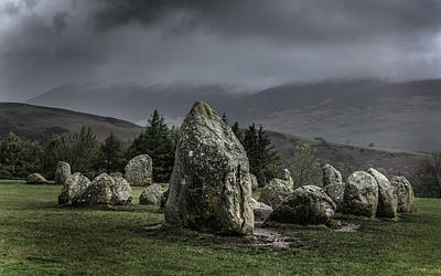 Chris Rock Photograph - Castlerigg Stone Circle by Chris Fletcher
