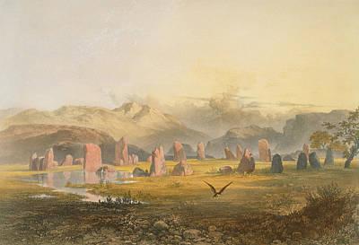 Castlerigg Stone Circle Near Keswick Print by James Baker Pyne