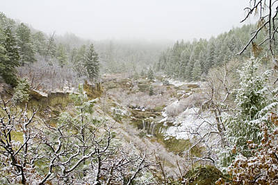 Steven Krull Royalty-Free and Rights-Managed Images - Castlewood Canyon State Park by Steven Krull