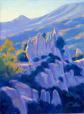 Castro Crest Guardians Plein Air Art Art Print
