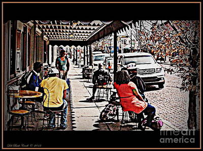 Photograph - Casual Dining by Deb Badt-Covell