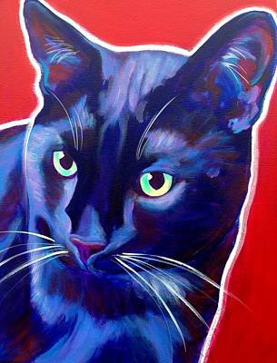 Painting - Cat - Caleb by Alicia VanNoy Call