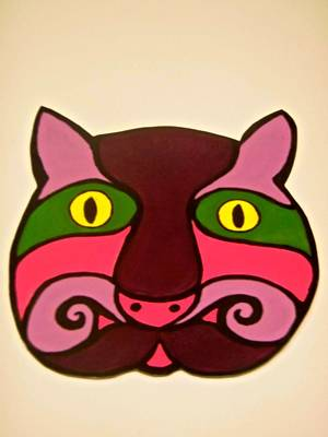 Painting - Cat #1 by Stephanie Moore