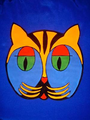 Painting - Cat #2 by Stephanie Moore