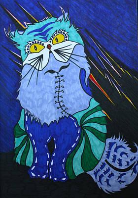 Cat 4 Original by Carol Tsiatsios