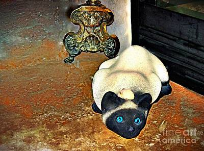 Photograph - Cat And Mouse by Phyllis Kaltenbach
