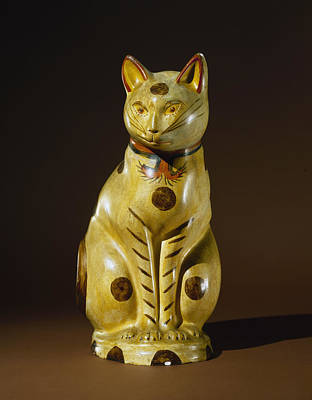 Northeast Painting - Cat, C1875 by Granger