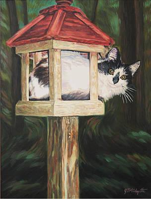 Cat House Art Print