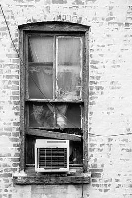 Photograph - Cat In The Old Window by Gary Heller