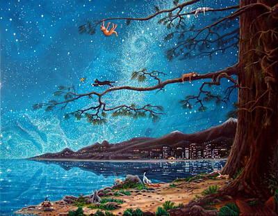 Cat Island Art Print