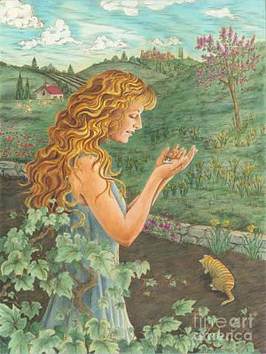 Cat 'n Mouse Original by Laura Sapko