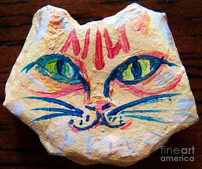 Painting - Cat Rock by Judy Via-Wolff
