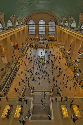 Grand Central Station Photograph - Cat Walk At Grand Central Terminal by Susan Candelario