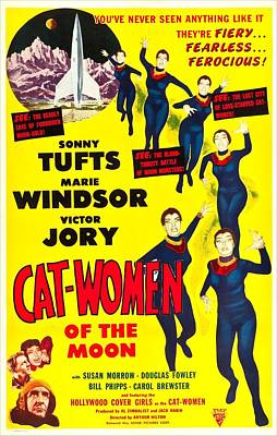 Cat-women Of The Moon, Us Poster, 1953 Art Print