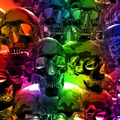 Graveyard Digital Art - Catacombs by Daniel Hagerman