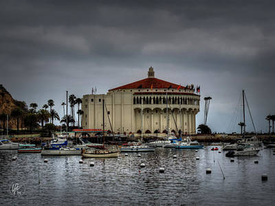 Photograph - Catalina Casino 001 by Lance Vaughn