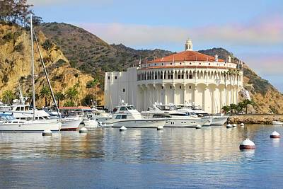 Photograph - Catalina Casino And Harbor by Jane Girardot